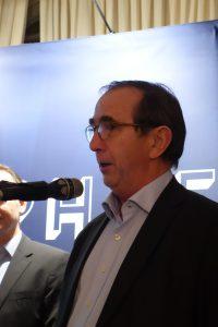 M. Bernard Burtschy, President of the Jury and journalist