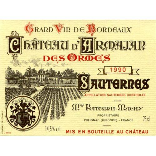 etiquette-de-vin-de-sauternes-chateau-d-armajan-des-ormes-1990-914751950_l1